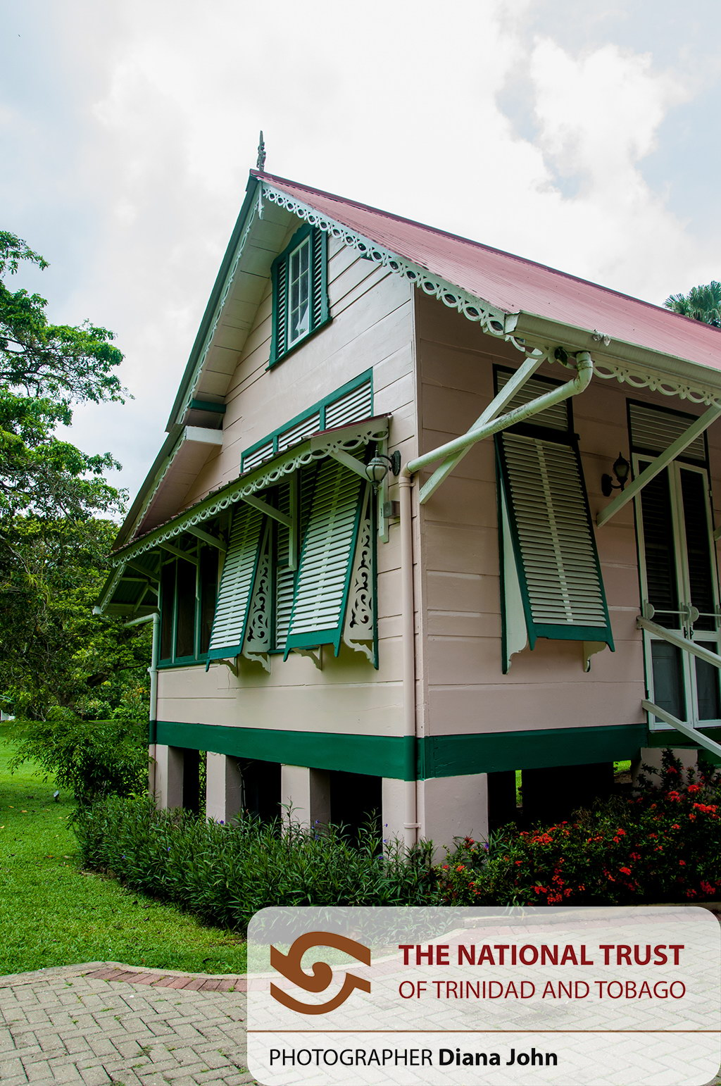 Ortinola great house national trust of trinidad and tobago for Trini homes