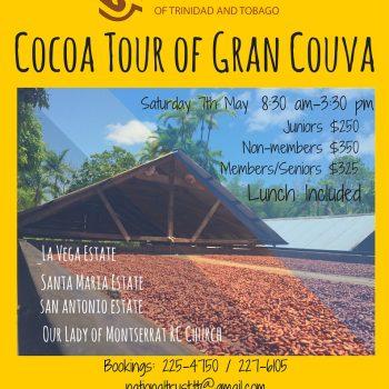 Cocoa Tour of Gran Couva Event Flyer