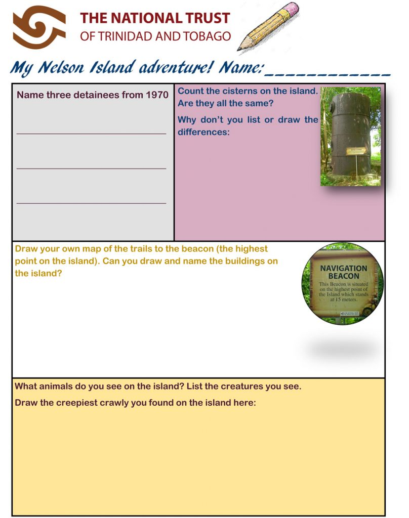 Nelson Island Worksheet for Primary Schools