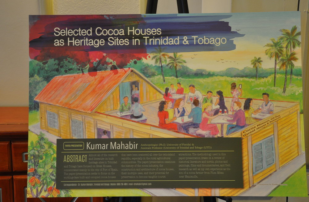 2nd Caribbean Conference of National Trusts and Preservation Societies - Dr Kumar Mahabir - Selected Cocoa Houses in Trinidad