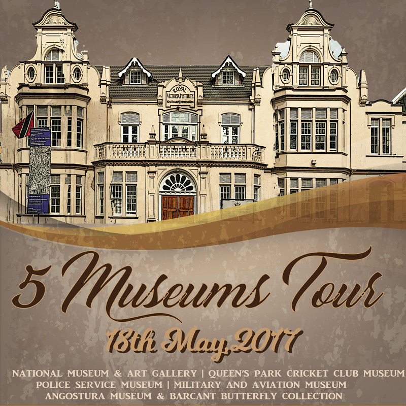 5 Museums Tour - 18th May, 2017