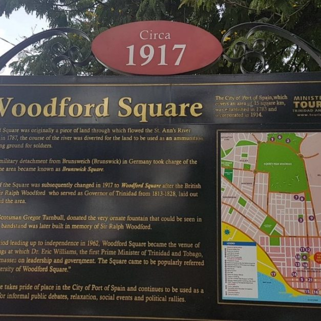 woodford square sign