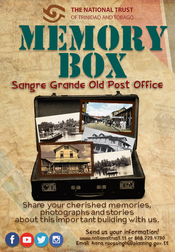 Sangre Grande Old Post Office –Memory Box