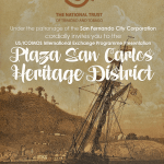 Plaza San Carlos Heritage District Lecture