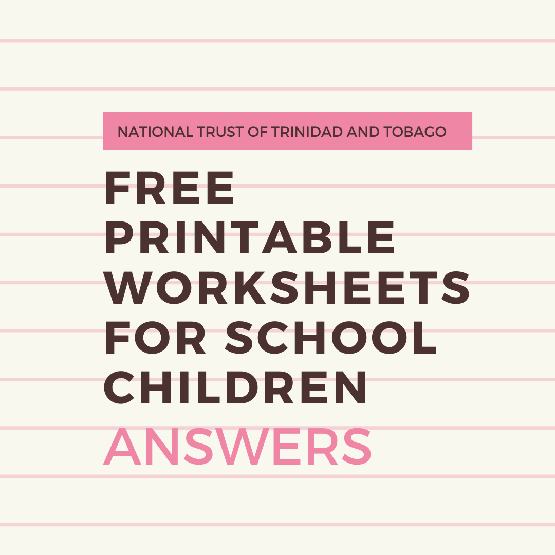 Free Printable Worksheets for School Children - Answers
