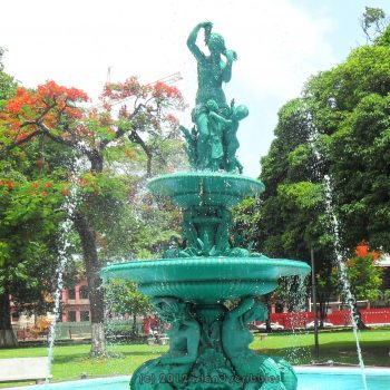 Contested heritage at the heart of Port of Spain: Woodford Square