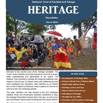 Heritage Newsletter - March2016