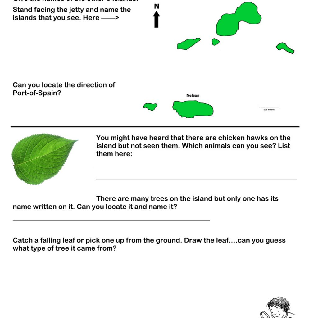 Nelson Island Worksheet for Secondary Schools