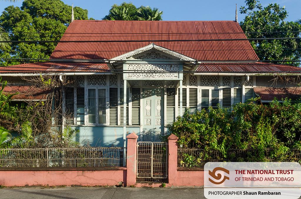 A residence on Duke Street, Port of Spain. December 6th, 2014.