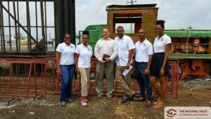 Members of staff with Mr. Beadon and Mr. Bhimull