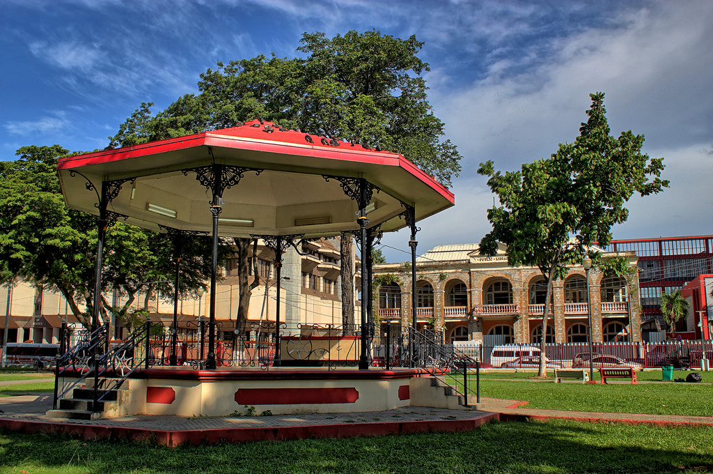 The Woodford Square Bandstand