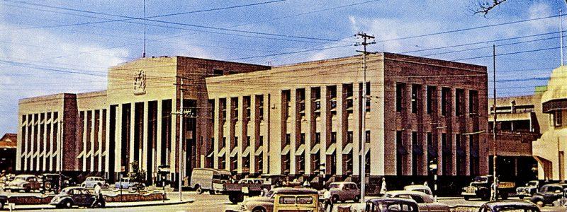 tresury building trinidad circa 1940