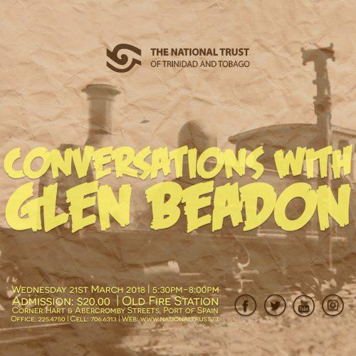 Conversations with Glen Beadon