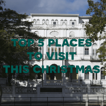 Top 5 Places to Visit this Christmas