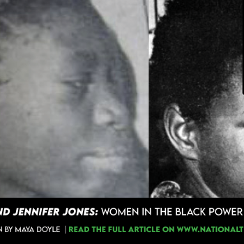 Women in the Black Power Movement.