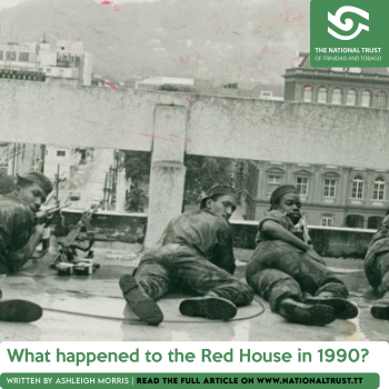 What happened to the Red House in 1990?