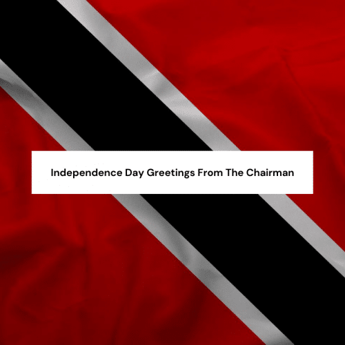 Independence Day Greetings from the Chairman