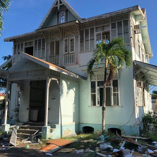 Statement on the destruction of Heritage Building on Jerningham Avenue