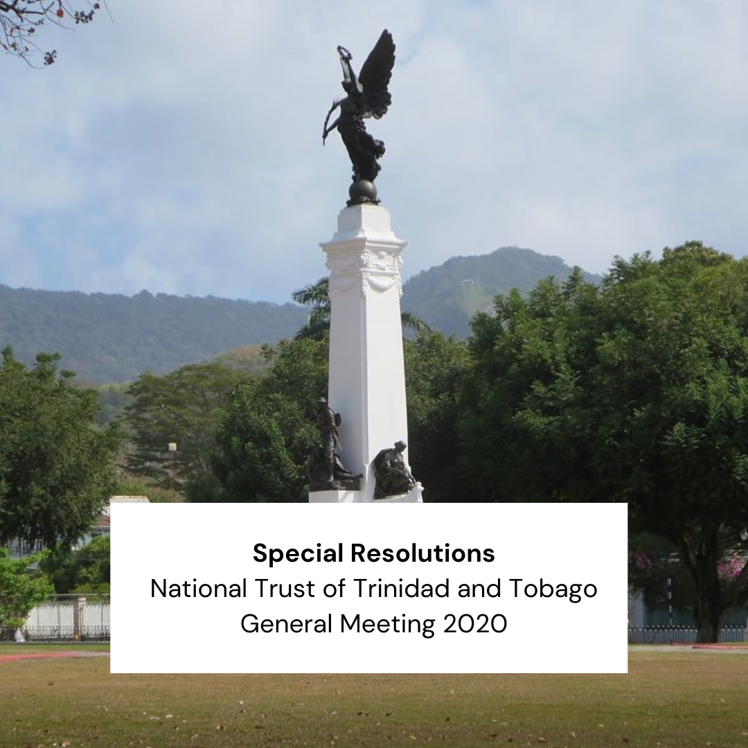 Special Resolutions 2020 General Meeting