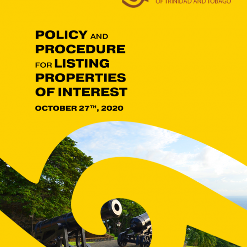 Policy and Procedure for Listing Properties of Interest