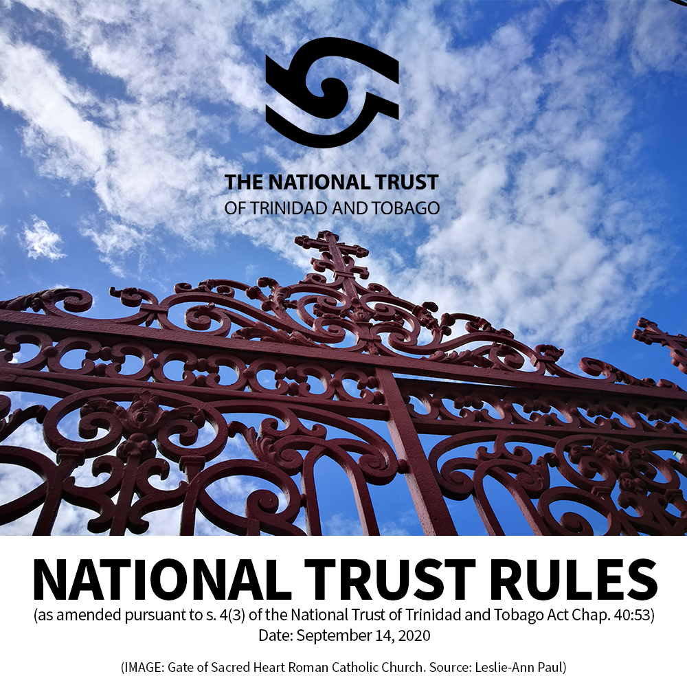 Rules of the National Trust of Trinidad and Tobago