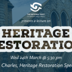 Heritage Restoration Lecture