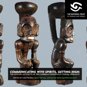 Communicating with spirits, Getting High: The wooden artefacts of the Caribbean Indigenous Cohoba Ceremony