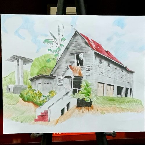 The National Trust of T&T and Unicomer recognized young artists on World Heritage Day